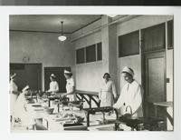 1930s Students in Home Economics Cooking Lab