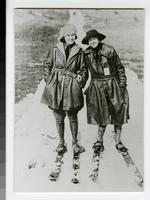 1926 Students Cross Country Skiing
