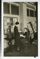 1930s Students in the Tower Hall Library