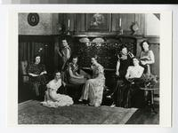 1930s Students in the Tower Hall Parlor