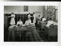 1950s Medical Records Students at St. Mary's Hospital