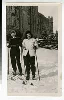 1950s Students Cross Country Skiing