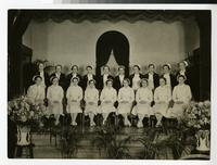 1936 Nursing Students' Graduation