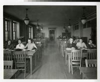 1930s Students Working in Study Hall