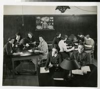 1940s Students in the Biology Lab
