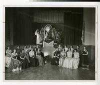 1940s Students in The College of St. Scholastica's Christmas Pageant