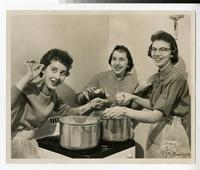 1958 Students Cooking