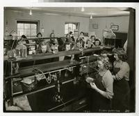 1945 Medical Technology Students in Chemistry Lab