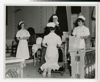 1954 Nursing Students' Capping Ceremony
