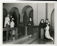 1955 Nursing Students' Capping Ceremony
