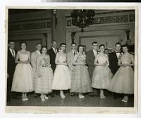 1956 Nursing Students at the Rheumatic Fever Charity Ball