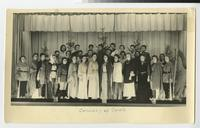 1956 Students Performing in the Christmas program