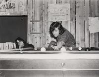 1970s Games Room Playing Pool