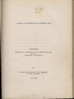 "McGough, Sister Mary Charles, O.S.B. ""A Survey of Illustration for Children's Books"""