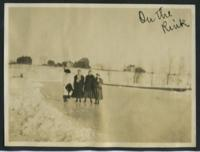 """1909-1913 """"On the Rink"""""""