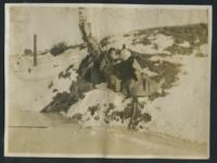 1909-1913 Students Outside in the Snow