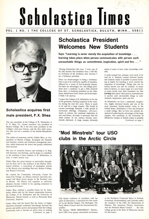 Scholastica Times  (1971-75) More issues coming soon!