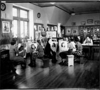 1928 Art Studio on the Fifth Floor of Tower Hall