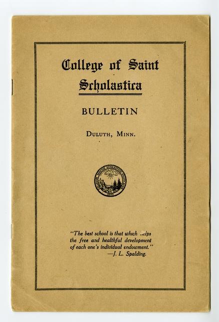 College Catalogs (1915-present)