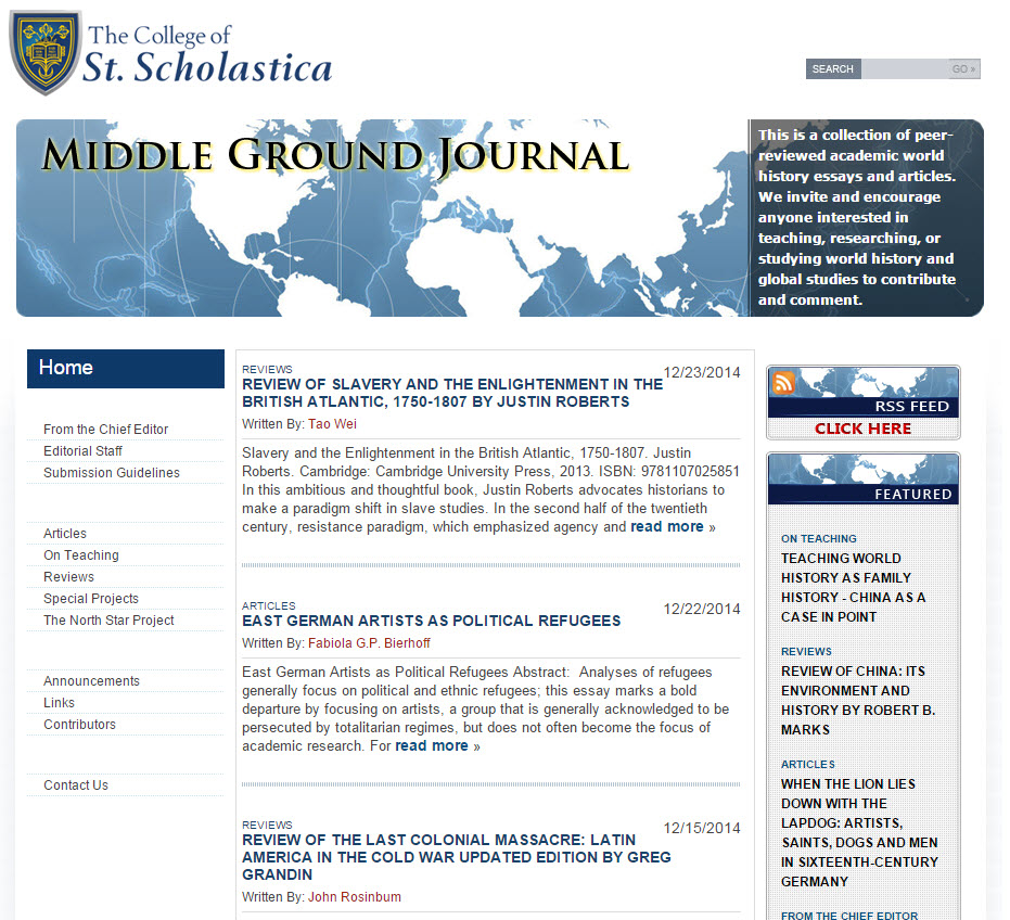 Faculty and Staff Scholarly Publications