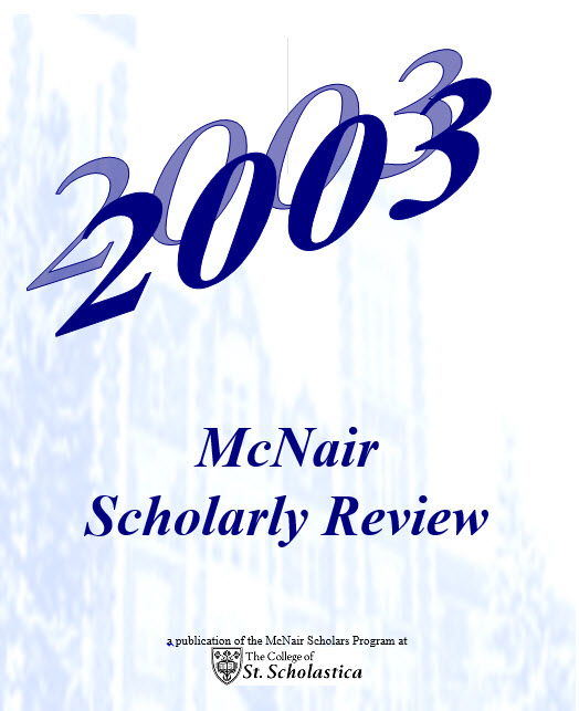 Student Scholarly Publications